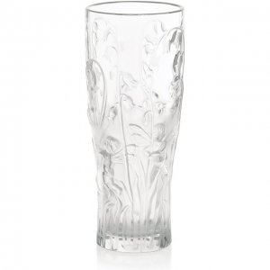 Ваза Elfes Lalique. Цвет: прозрачный