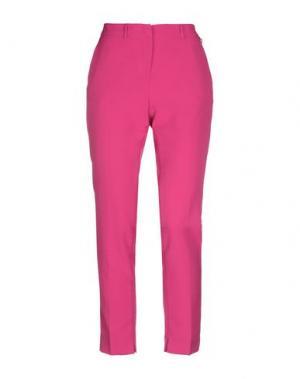Повседневные брюки CANNELLA. Цвет: фуксия