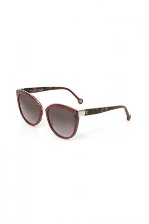 Очки солнцезащитные Enni Marco. Цвет: коричнево-красный