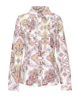 Pубашка FEMME by MICHELE ROSSI. Цвет: слоновая кость