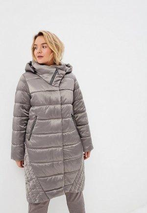 Куртка утепленная Electrastyle. Цвет: серый