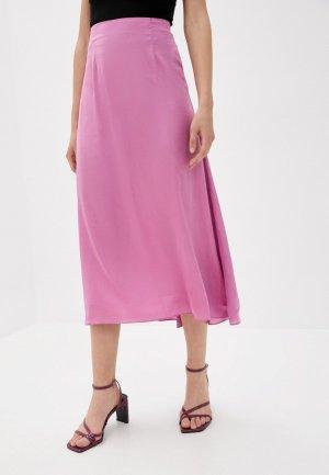 Юбка Glamorous. Цвет: розовый