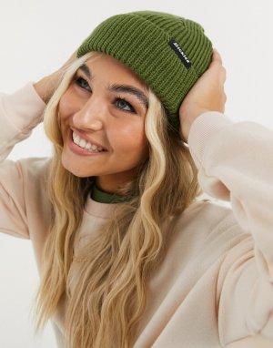 Зеленая шапка-бини -Зеленый цвет Dickies