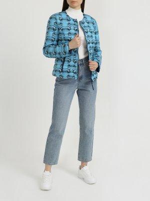 Двусторонняя женская куртка Adolfo Domínguez. Цвет: siniy