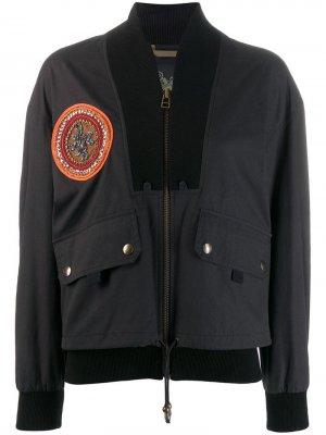 Куртка-бомбер с вышивкой Mr & Mrs Italy
