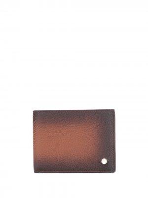 Бумажник с эффектом градиента Orciani. Цвет: коричневый