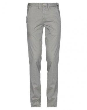 Повседневные брюки ERIC HATTON. Цвет: светло-серый