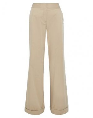 Повседневные брюки DEREK LAM. Цвет: песочный