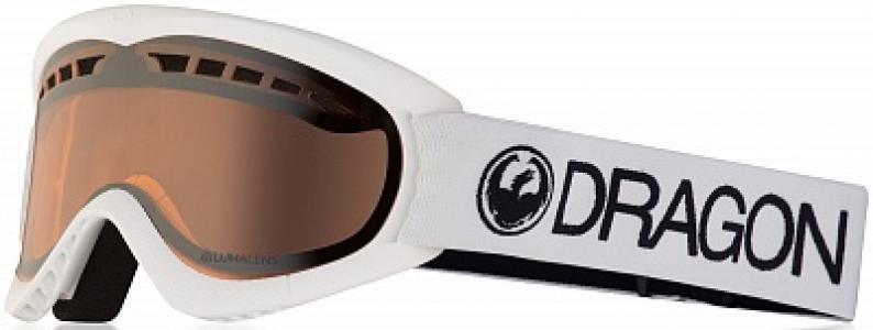 Маска Dxs White - Lumalens Dragon. Цвет: белый