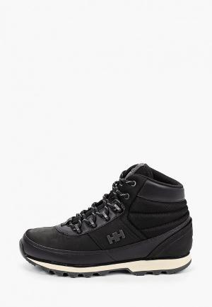 Ботинки Helly Hansen W WOODLANDS. Цвет: черный