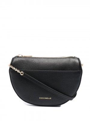 Мини-сумка Kali Coccinelle. Цвет: черный