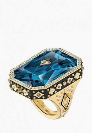 Кольцо Swarovski® TAROT MAGIC. Цвет: синий