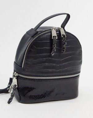 Черный рюкзак nile Steve Madden