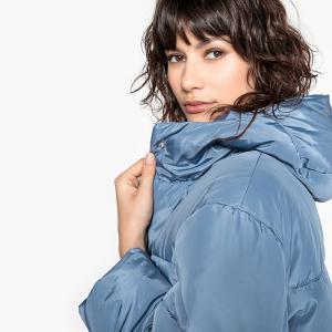 Куртка с большим воротником MADEMOISELLE R. Цвет: небесно-голубой,розовый