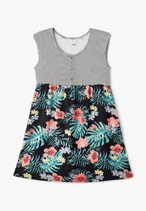 Платье Roxy HEY MAMA. Цвет: разноцветный