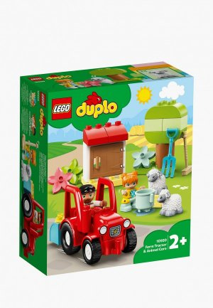 Конструктор DUPLO LEGO Сельскохозяйственный трактор и уход за животными. Цвет: разноцветный