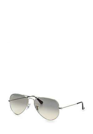 Очки солнцезащитные Ray-Ban® RB3025 003/32. Цвет: серебряный