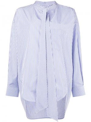 Рубашка New Swing Balenciaga. Цвет: синий