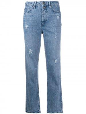 Зауженные джинсы Tommy Hilfiger. Цвет: синий