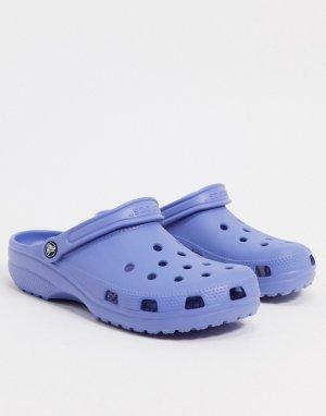 Фиолетовые клоги originals-Фиолетовый Crocs