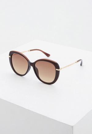 Очки солнцезащитные Jimmy Choo PHEBE/F/S 2PI. Цвет: коричневый