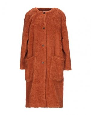 Пальто AMERICAN VINTAGE. Цвет: ржаво-коричневый