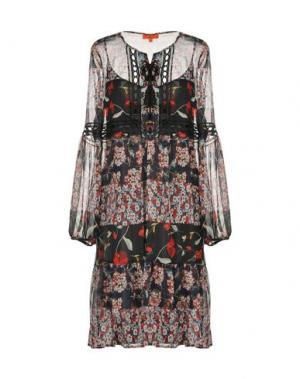 Платье до колена ALBA CONDE. Цвет: черный