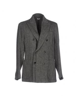 Пиджак (+) PEOPLE. Цвет: серый