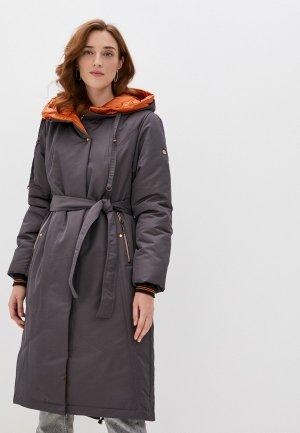 Куртка утепленная Dimma 2112. Цвет: серый