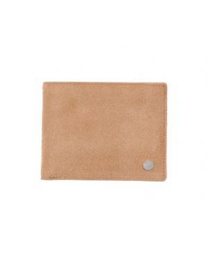 Бумажник RAG & BONE. Цвет: верблюжий