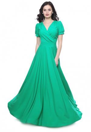 Платье Grey Cat LALUNA. Цвет: зеленый