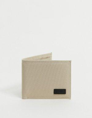 Бумажник двойного сложения -Белый Consigned
