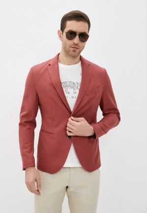 Пиджак Sisley. Цвет: красный