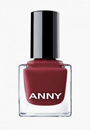 Лак для ногтей Anny тон 147 красное вино, 15 мл. Цвет: бордовый