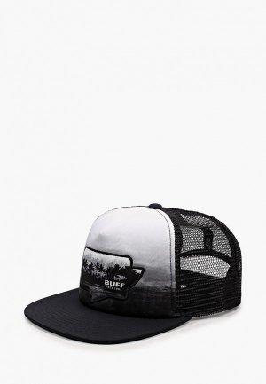 Бейсболка Buff Trucker Cap. Цвет: черный