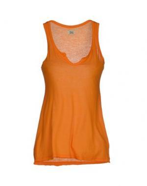 Майка SIYU. Цвет: оранжевый