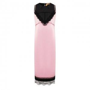 Платье из вискозы N21. Цвет: розовый