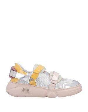 Кеды и кроссовки AGL. Цвет: белый