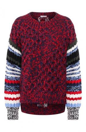 Шерстяной свитер Sonia Rykiel. Цвет: разноцветный