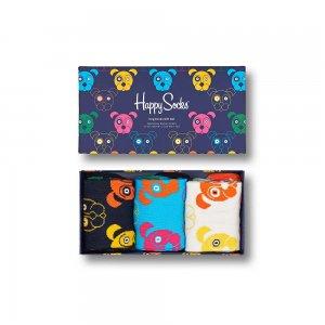 3-Pack Mixed Dog Socks Gift Set Happy. Цвет: разноцветный