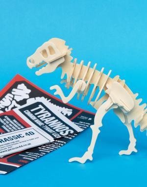 4D-пазл в виде тираннозавра-Мульти Fizz Creations
