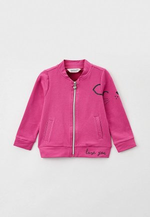 Олимпийка Coccodrillo. Цвет: розовый