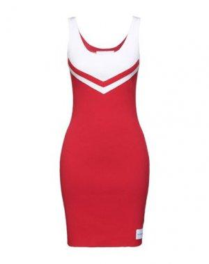 Короткое платье CALVIN KLEIN JEANS. Цвет: красный