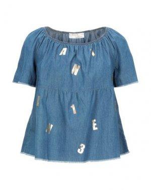 Джинсовая рубашка EAN 13. Цвет: синий
