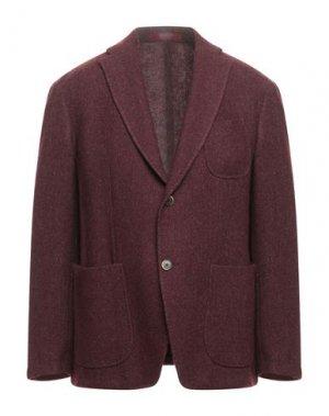 Пиджак GIACCHE'. Цвет: красно-коричневый