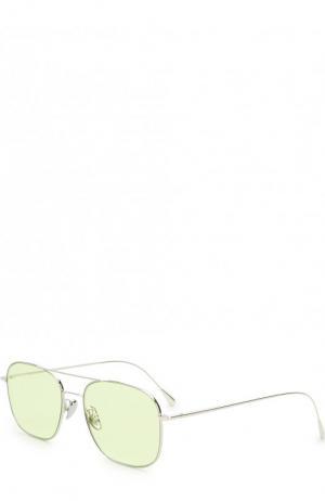 Солнцезащитные очки Cutler and Gross. Цвет: светло-зеленый