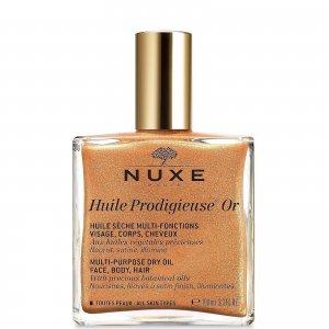 Золотое масло для лица, тела и волос Huile Prodigieuse Golden Shimmer Multi Usage Dry Oil 100 мл NUXE
