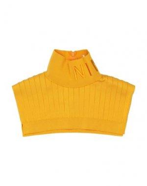 Воротник NINA RICCI. Цвет: желтый