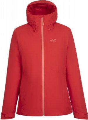 Куртка утепленная женская Argon Storm, размер 50 JACK WOLFSKIN. Цвет: красный