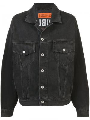 Джинсовая куртка Heron Preston. Цвет: серый